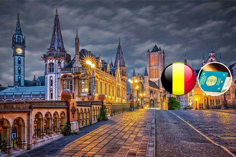 Виза в Бельгию: стоимость, образец анкеты, сроки