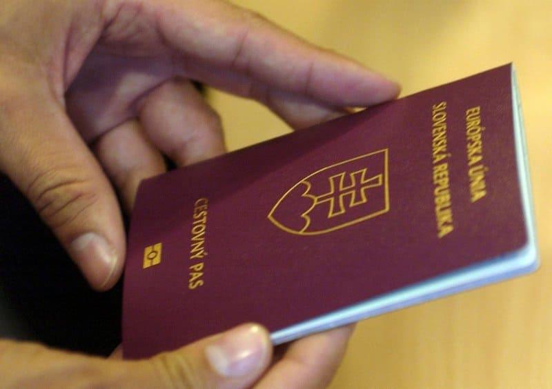 Документы для визы в Словакию