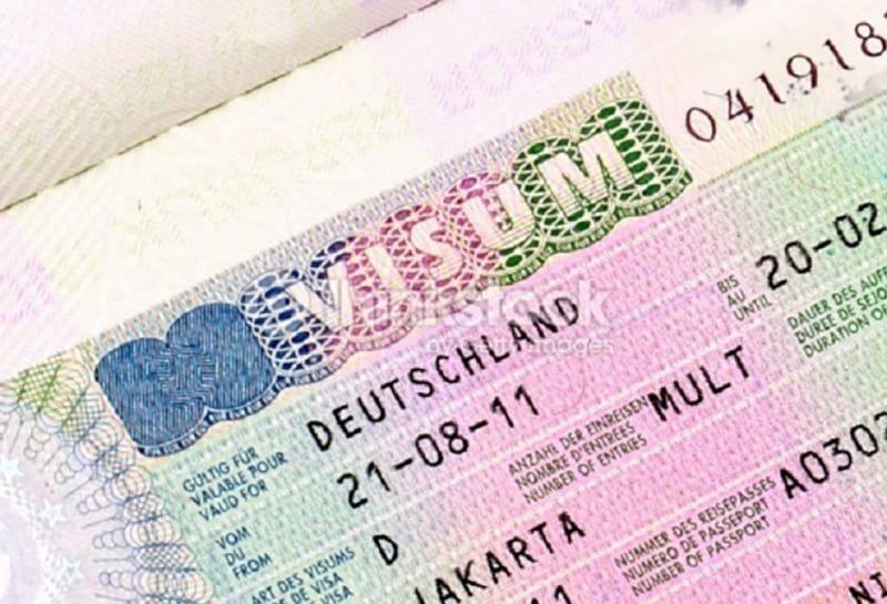 Виды виз в Германию для казахстанцев