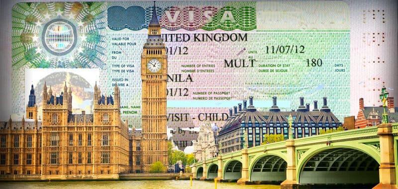 Документы для визы в Англию