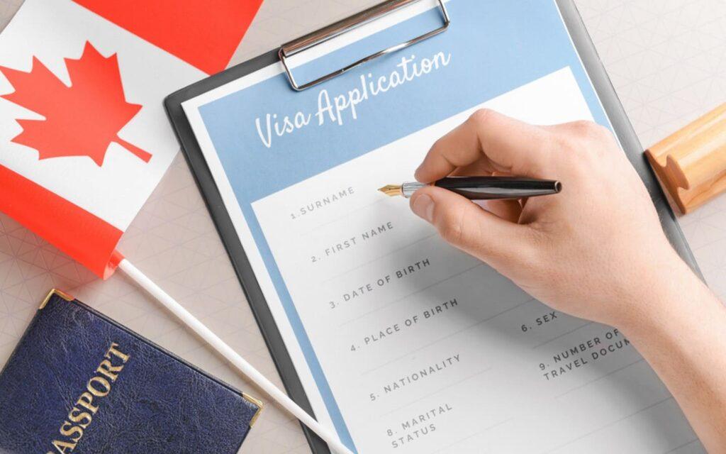 Шаблоны документов на визу в Канаду